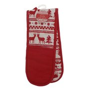 Christmas Stag Double Oven Glove