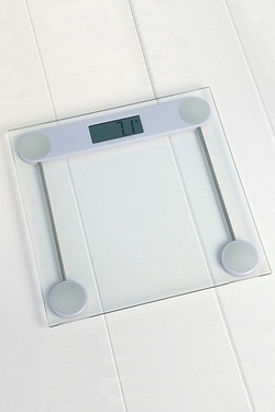 Slimline Glass Digital Bathroom Scales