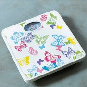 Butterfly Bright Bathroom Scales