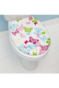 Butterfly Bright Toilet Seat