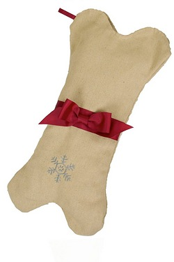 Festive Collection Dog Stocking