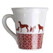 Festive Collection Dog Ceramic Mug