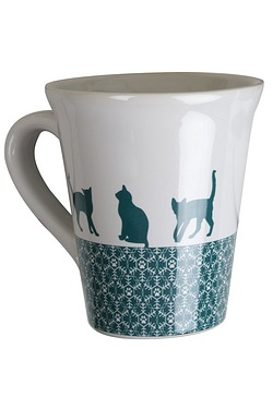 Festive Collection Cat Ceramic Mug