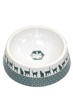 Festive Collection Ceramic Cat Bowl