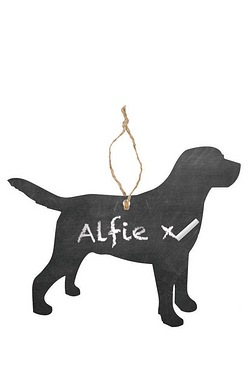 Festive Dog Hanging Tree Decoration