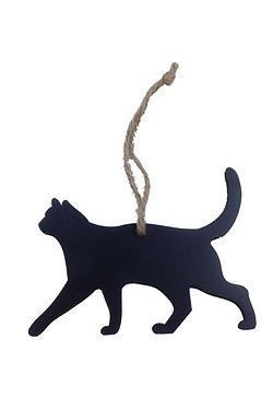 Festive Cat Hanging Tree Decoration