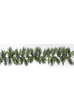 Emerald Hard Needle Pine Garland