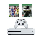 Xbox One S White 500GB Console + Ca...