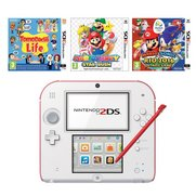Nintendo 2DS Red/White + TomoDachi ...