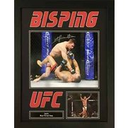 Michael Bisping Signed Photo