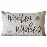 Winter Wishes Printed Cushion