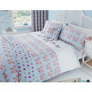 Embroidered Butterfly Duvet Set