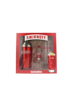 Smirnoff Cocktail Shaker Gift Set