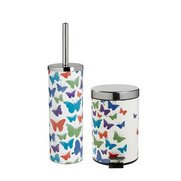 2-Piece Butterfly Toilet Brush Hold...
