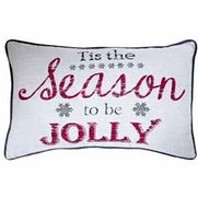 Tis The Season To Be Jolly Cushion