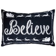 Believe Monochrome Cushion