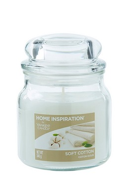 Yankee Medium Jar Candles Soft Cotton