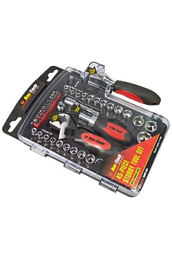 Am-Tech 45 Piece Stubby Tool Set
