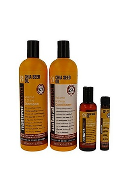 Natural World Hair Care Pack - Chia...