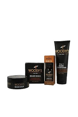 Woodys For Men Beard Care Gift Set