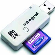 Integral SD Card Reader