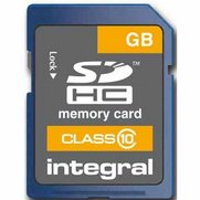 Integral 4GB SD Card - Class 10