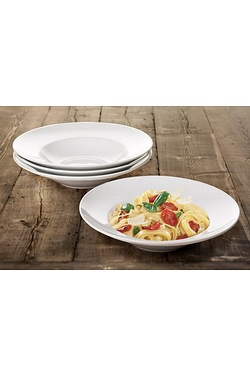 Set Of 4 Large Pasta Bowls