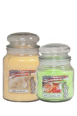 Vanilla & Apple Jar Candles - Twin ...