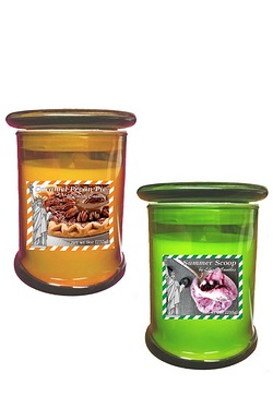 Caramel Berry Tumbler Candles - Twi...