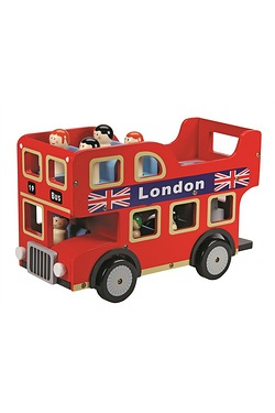 Wooden London Bus