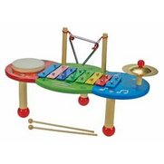 Wooden Musical Table