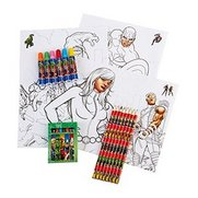 30-Piece Colouring Set - Avengers