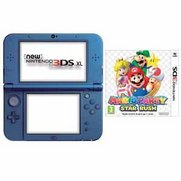 New Nintendo Blue 3DS XL + Mario Pa...