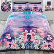 Tropical Summer Haze Duvet Set