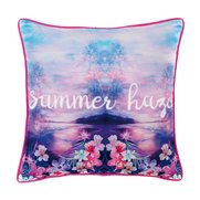 Tropical Summer Haze Cushion Cover