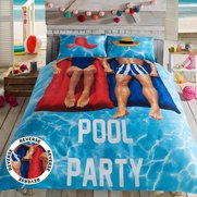 Pool Party Duvet Set