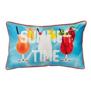 Pool Party Filled Cushion