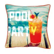 Pool Party Cushion Cover