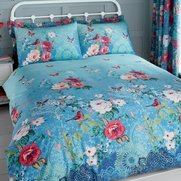 Floral Lace Pair Of Pillowshams
