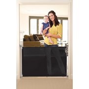 Black Pull Out Baby Gate