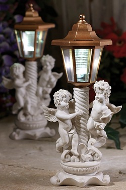 Cherub Solar Post Light