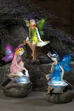 Three Garden Fairies