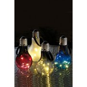 Set Of 4 Eureka Light Bulbs