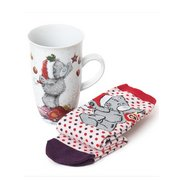 Me To You Christmas Mug & Socks