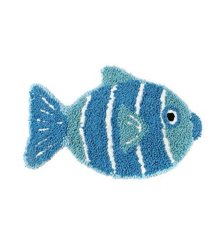 Fish shaped bath mat studio for Fish bath mat