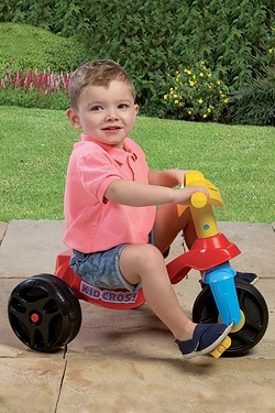Happy Trike Multi Coloured Ride On