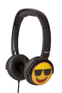 Groov-e EarMOJI Headphones Cool Fac...