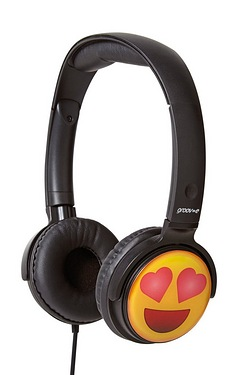 Groov-e EarMOJI Headphones - Love H...