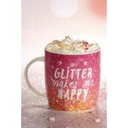 Glitter Makes Me Happy Mug