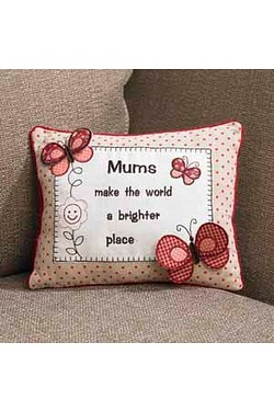 Mum Cushion Butterfly